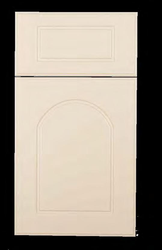Archer KING DURASTYLE Raised Panel DOOR STYLES Stile Rail Inside Profile 3/4 Polymer Outside Profile Inside