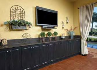 Outdoor Durability with Indoor Style King DuraStyle Custom Cabinet Door Program combines King StarBoard ST, the original