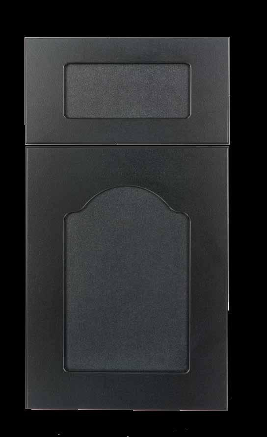 Roman KING DURASTYLE Shaker DOOR STYLES Stile Rail Inside Profile 3/4 Polymer Outside Profile Inside Profile: Radius