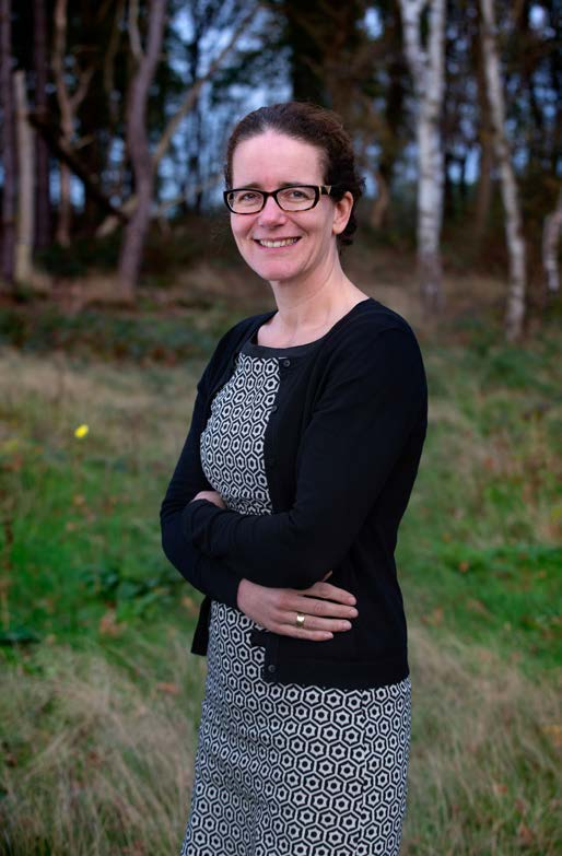 Blijf innoveren en wordt ecosysteemrestauratief 71 Head of Sustainable Development Geanne van Arkel, Interface Wereldmarktleider modulaire vloerbedekking.