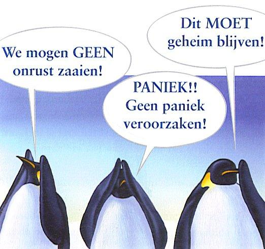Alle pinguins