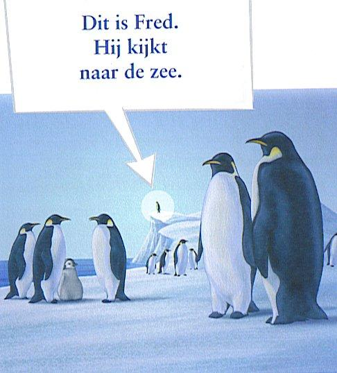 Een van de pinguins was Fred.