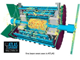 FOM-programma 7 Physics at the TeV scale: ATLAS ATLAS: de eerste LHC bundels smaken naar meer.