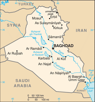 6 Gevalstudie: Irak Bron: CIA Factbook: www.cia.gov/library/publications/the-world-factbook/index.