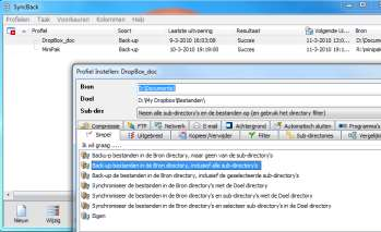 Gratis back-up programma s Windows back-up
