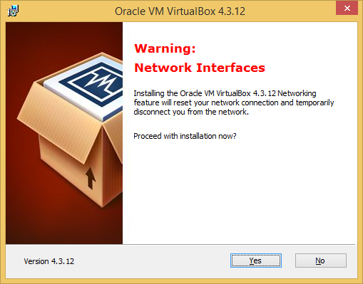 2 VirtualBox installeren (in Windows 7) VirtualBox 4.3.14 Dubbelklik op de net gedownloade SETUP.