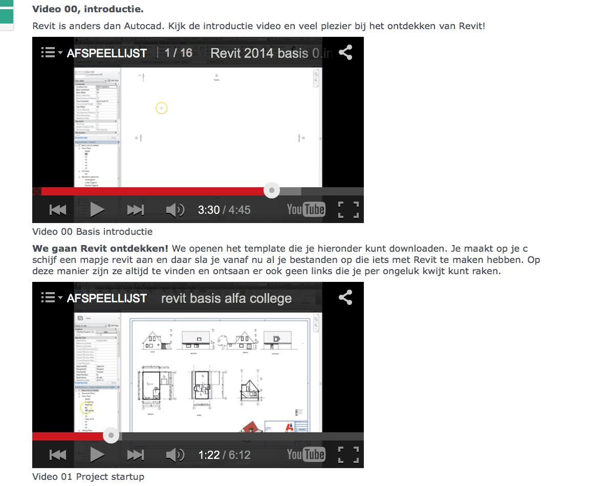 2.1 Video s ten behoeve van de basiscursus -Video 01 project start up.
