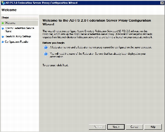 4.3 ADFS 2.0 Proxy Configuratie 1. Kies Start > Programs > Administrative Tools > ADFS 2.