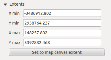 Figuur 18.4: Map Item properties Tab properties, you can update the print composer view selecting the map element in the print composer and clicking the [Update preview] button.