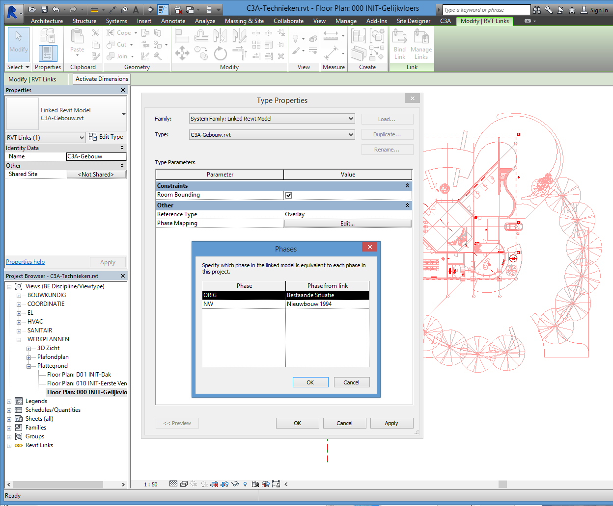 blad 18 REVIT Multidiciplinair Samenwerken C3A-Witas Workshop 18 mrt 2015 3.