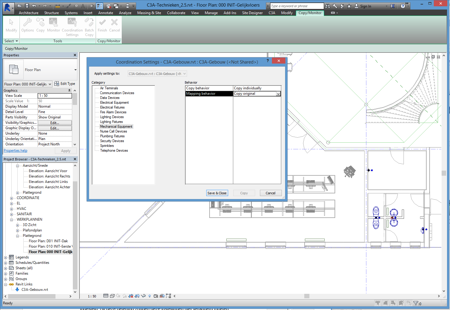 blad 22 REVIT Multidiciplinair Samenwerken C3A-Witas Workshop 18 mrt 2015