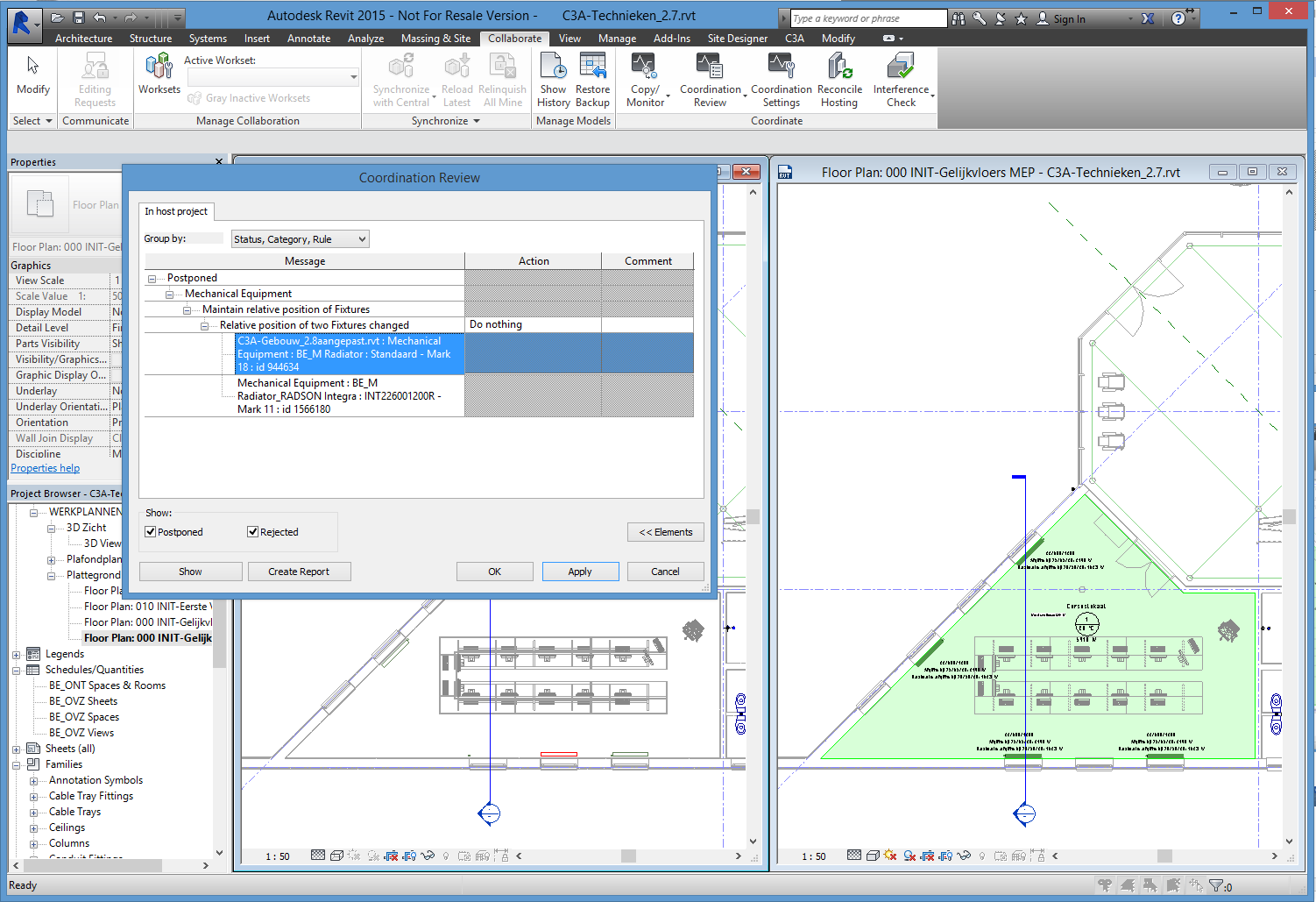 blad 34 REVIT Multidiciplinair