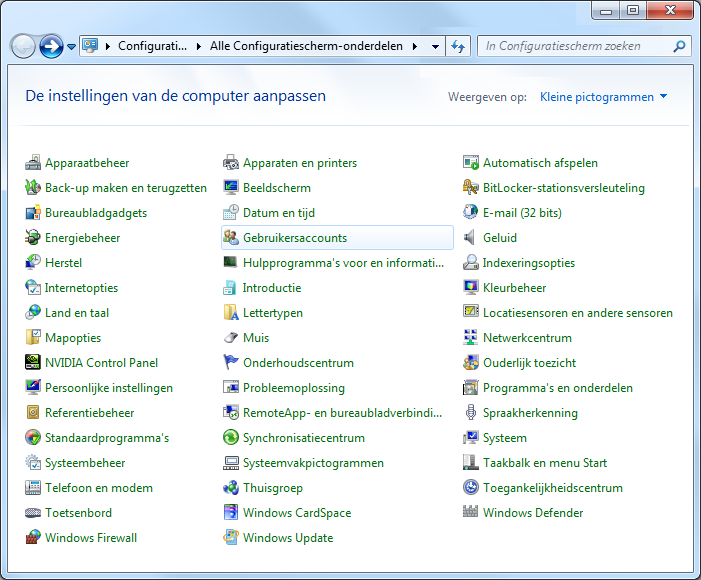 favorieten terugzetten windows 7