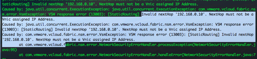 Starters problemen Bij startenvappmelding: Batch update returned unexpected row count Geen hits op Google vcloud-container-debug.log: Invalid nexthop'192.168.0.10'.