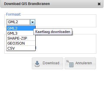 WebGIS Viewer met map service (en download) Webgisviewer.