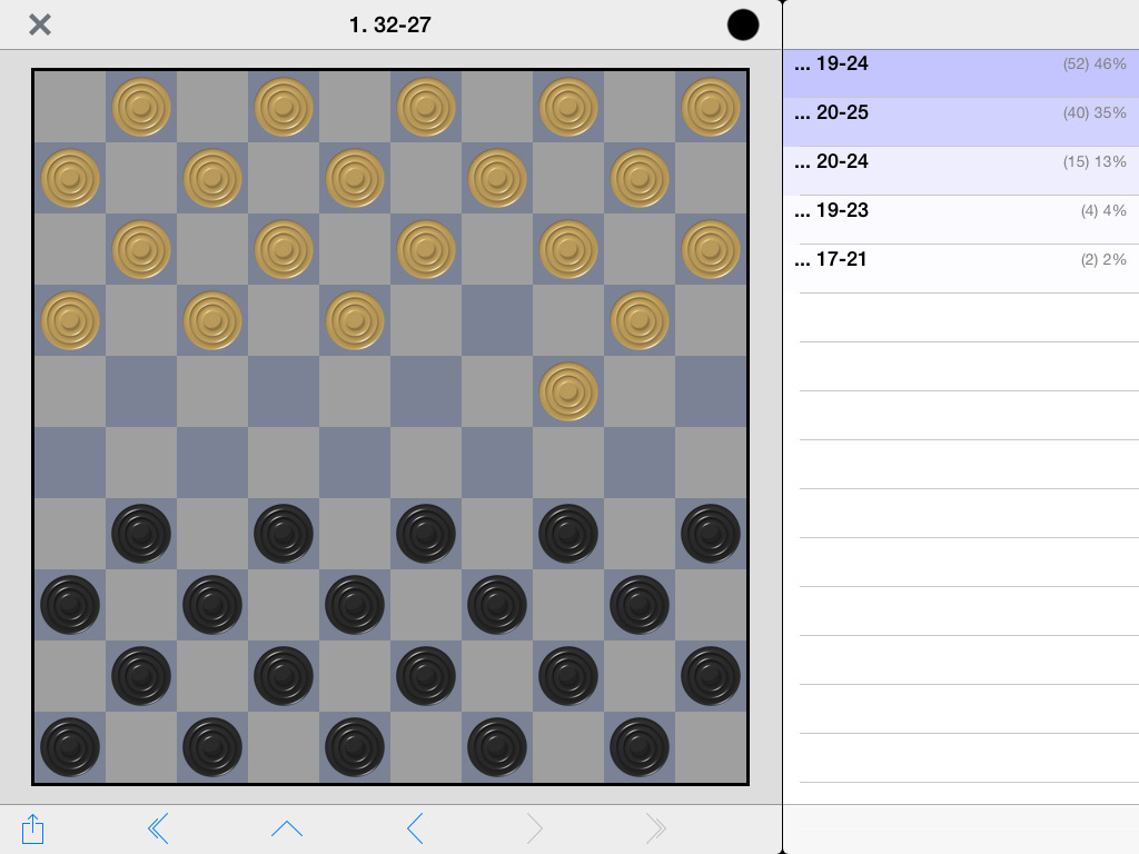 Information and Frisian Draughts links: It is possible to play Frisian Draughts online on: www.ludoteka.