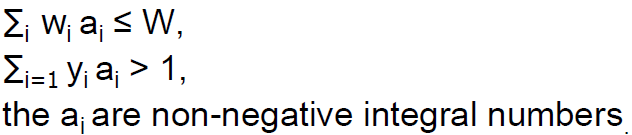 7. Column Generation 7.1. Cutting Stock Problem Width of each jumbo-roll: W Number of orders: n Width of requested roll i: wi Which set of rolls or pattern is used to cut a single jumbo-roll?