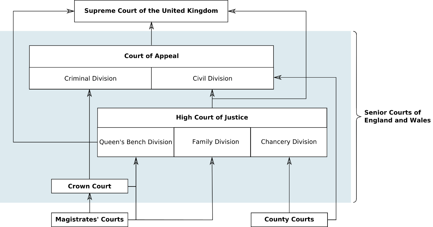 Figure B11.3 - The structure of the courts 120 1.2. Criminal case file The criminal case file is the collection of evidence concerning a particular criminal case against a defendant.