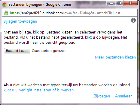 3. Foutboodschap This account can t be used to access Outlook.
