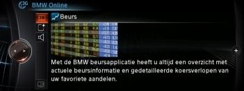 BMW ONLINE APPLICATIES INSTELLEN. 1. Selecteer Applicaties in BMW Online. 2. Het plus en min symbool kunnen gebruikt worden om applicaties toe te voegen aan de lijst, of deze te verwijderen. 3.