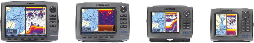 HDS High Definition System HDS Multifunctionele Fishfinder/GPS-Kaartplotters De beste fishfinder en GPS-kaartplotter gecombineerd in één brilliant display.