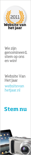 WEBSITE VAN HET JAAR Banners Nominated websites receive a package of banners to promote their nomination. During voting period banners were viewed 716.536.500 times. 1.433.