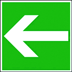 Chapter 8 - Safety signs and symbols caution Examples of rescue symbols