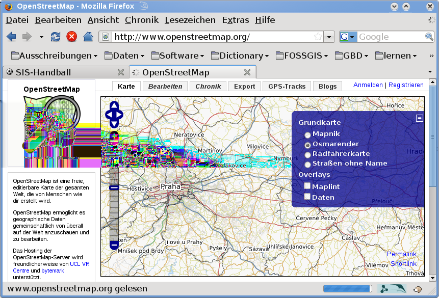 Figuur 16.1: OpenStreetMap data in the web 16.2 QGIS - OSM Connection The first part of this section describes how OSM data primitives are displayed in QGIS vector layers.