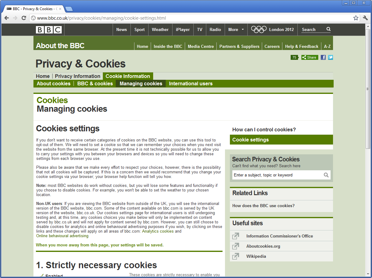Figuur 3. http://www.bbc.co.uk/privacy/cookies/managing/cookie-settings.