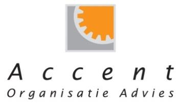 ACCENT ORGANISATIE ADVIES Accent Organisatie Advies voert adviesopdrachten uit op het gebied Operational Excellence, Risicomanagement en Financieel Performance Management.