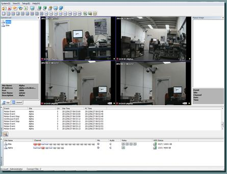 Services VMS Software Multi Site Up To 144 Cameras Live Live Event