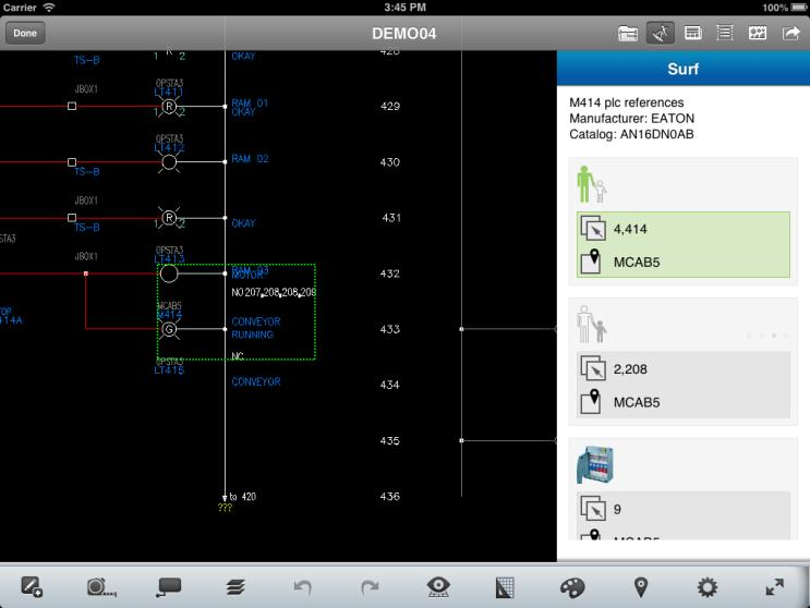 AutoCAD Electrical mobile workflow 1 2 3 AutoCAD
