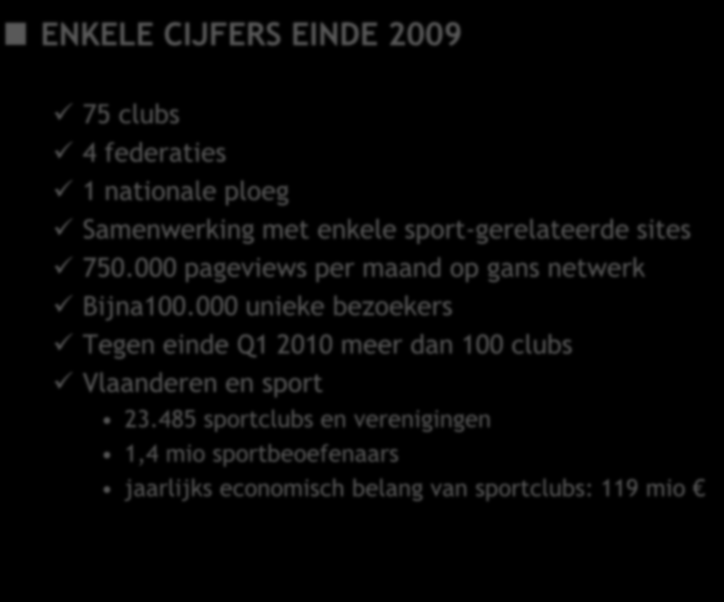 CLUBS SITES BEDR. SPORT WAT IS STOSIO?