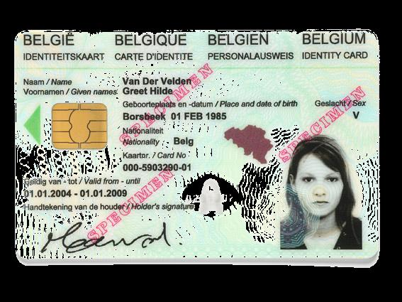 6. Electronic signatures Legally binding signed PDF s Using Belgian eid In