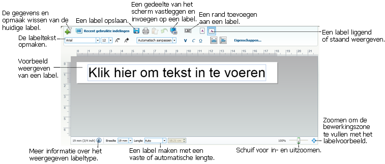 Rondleiding door DYMO Label v.