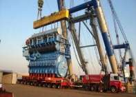Wagenborg Nedlift Crane rental (Benelux and Germany) Heavy transport and logistic management Turnkey heavy transport