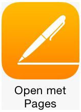 8.1.1. Word-document Ga met FileBrowser naar de netwerkschijf en log in.