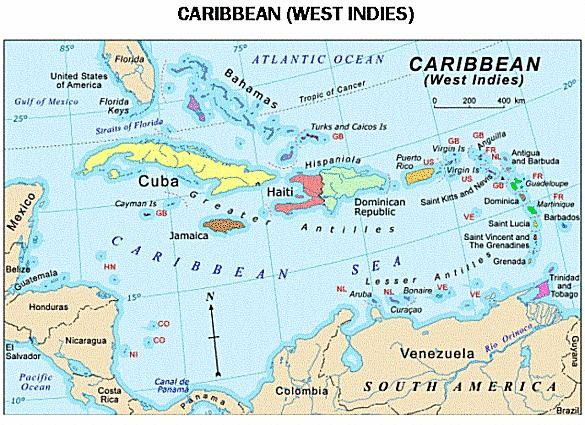 BIJLAGEN APPENDIX 1 Bron: http://cnrsociety.org/images/caribbean_map1-s.