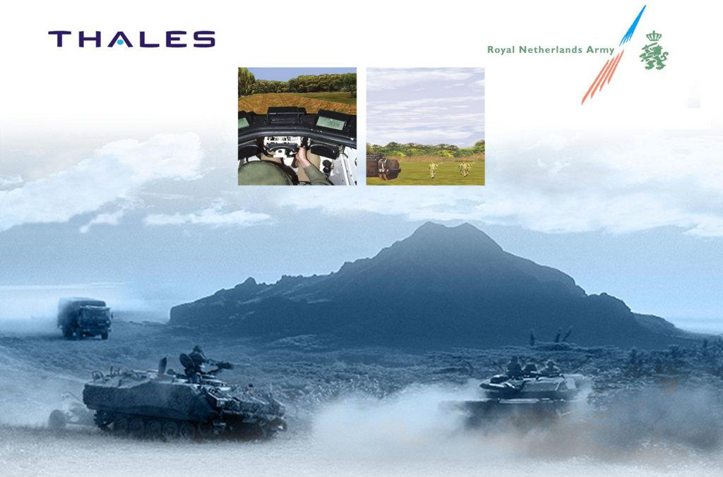Vragen TACTIS TACTical Indoor Simulation THALES 28 Thales