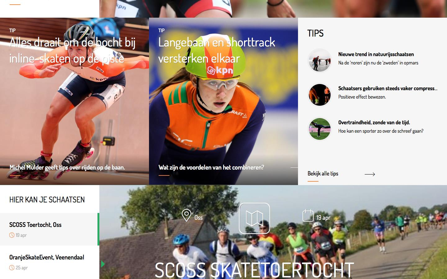 DOORKLIK VANAF HOMEPAGE NAAR TIPS-ARTIKEL OF VIDEO