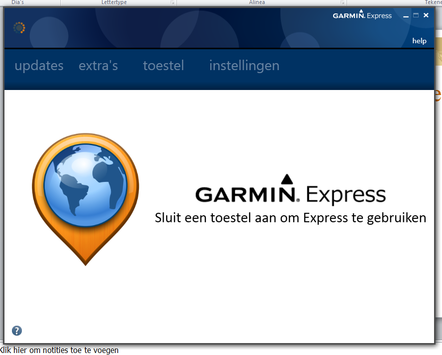 Garmin Express: Hoe
