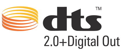 License notice and trademark acknowledgement for Dolby Digital Manufactured under license from Dolby Laboratories. Dolby and the double-d symbol are trademarks of Dolby Laboratories.