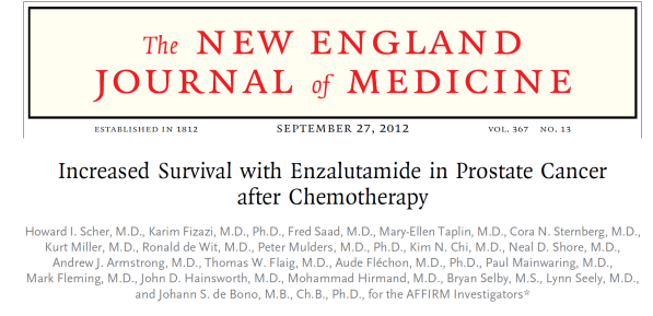 PROPOSAL FOR THE INCLUSION OF ENZALUTAMIDE IN THE WHO ...