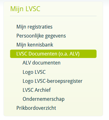 LVSC Documenten (o.a.