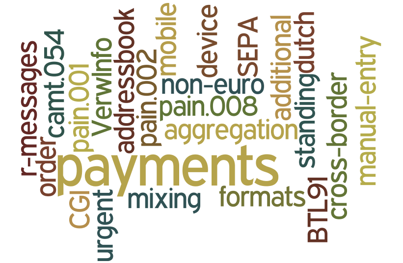 Roadmap BTL 91 non-euro payments CGI cross-border pain.002 additional formats incomplete pain.001 incomplete pain.