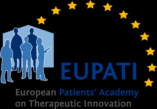 European Patients Academy: Paradigm shift in empowering patients on medicines R&D Launched Feb 12, runs for 5 years, 30 consortium members, Funded by IMI JU Will develop and disseminate objective,