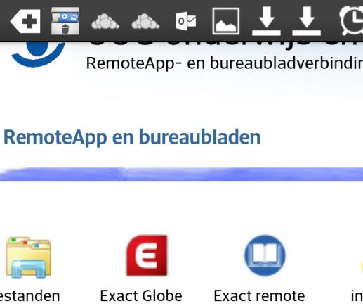 4.5 Op Android. Download en installeer de Microsoft Remote Desktop app uit de playstore.