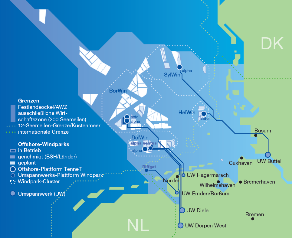 Building Future towards offshore a powerhub wind