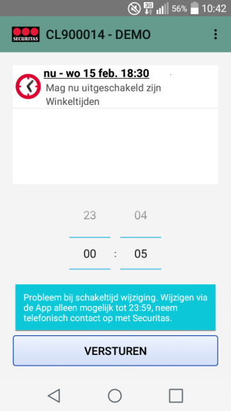notificaties in of uit te schakelen. 1.