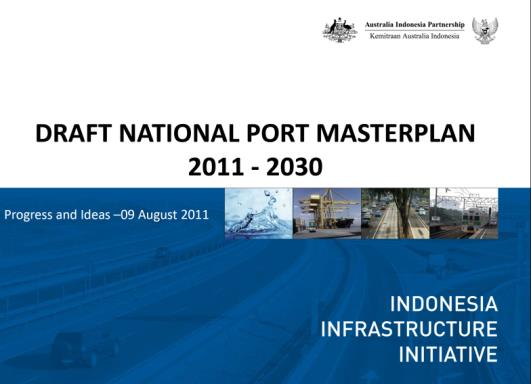 Indonesia Shipping Law 17/2008 MP3EI report the Six Main